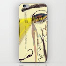 I, Eye, Aye iPhone Skin