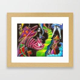 My Alice in Wonderland Framed Art Print