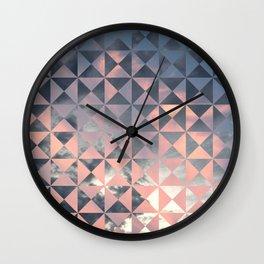 Sight Quilt Block Wall Clock