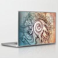 seashell Laptop & iPad Skins featuring Seashell by Irina Vinnik