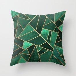 Green Throw Pillows | Society6