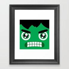 Adorable Hulk Framed Art Print