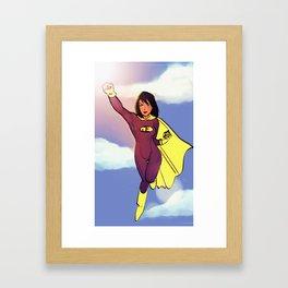 Super Javelin Framed Art Print