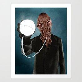 Ood (Doctor Who) Art Print