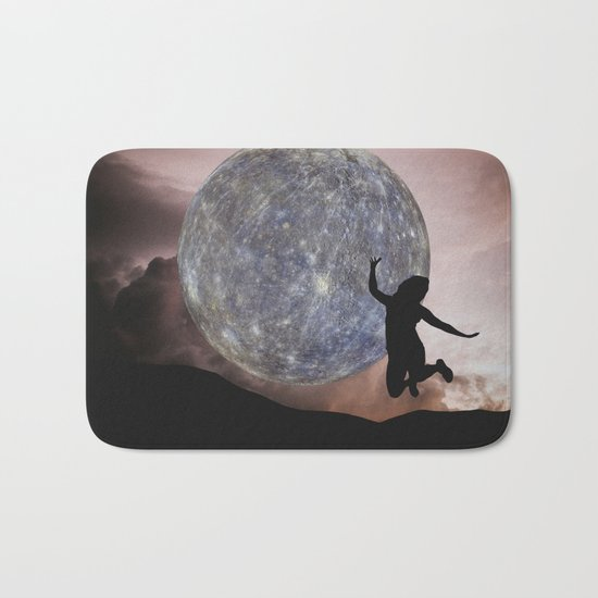DANCING WITH THE MOON Bath Mat