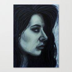 Melancholia Blue Canvas Print