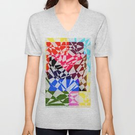 colors drawing Unisex V-Neck