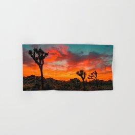 Desert sunset Hand & Bath Towel