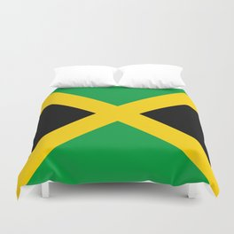 Flag of Jamaica Duvet Cover