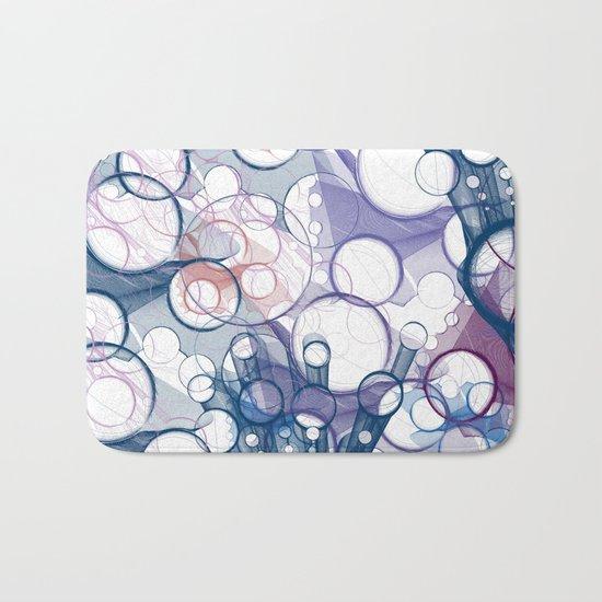 Abstract V Bath Mat