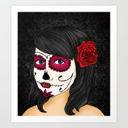 Day of the Dead Art Print
