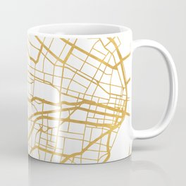 ST. LOUIS MISSOURI CITY STREET MAP ART Coffee Mug