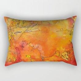 Yellow Dreams Rectangular Pillow