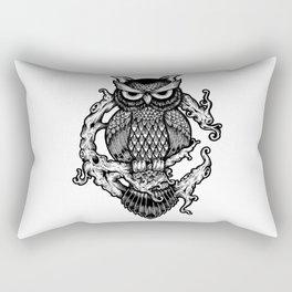 Owl Forest Rectangular Pillow