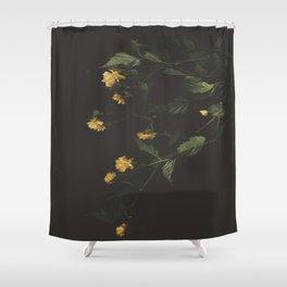 Yellow Night Shower Curtain
