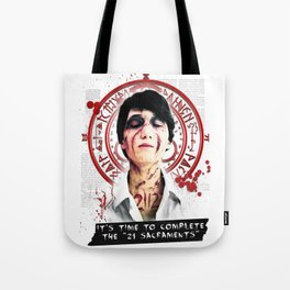 "Silent Hill - It's time to complete the ""21 Sacraments"" Tote Bag"