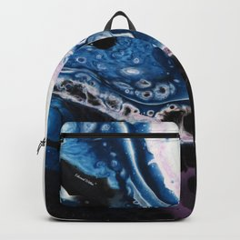 Nova - Original Abstract Painting Backpack