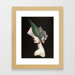 Feeling Unique. Framed Art Print