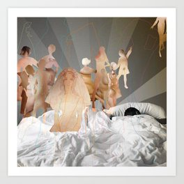 Will You Marry Us? Art Print