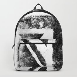 Black Grunge UK Flag Backpack