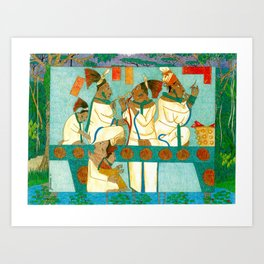 Royal Bloodletting Art Print