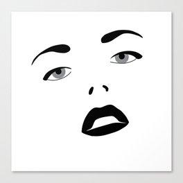 Glamour Girl Canvas Print