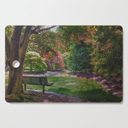 The Park Bench Cutting Board