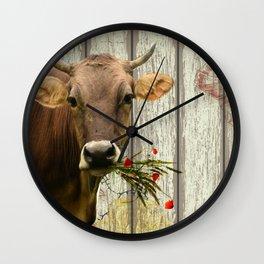 Hey Moo Wall Clock