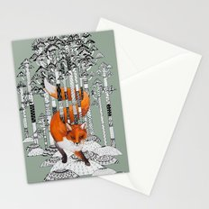 Fox Forest Stationery Cards