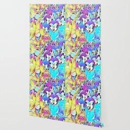 Candy Floral Mix Wallpaper