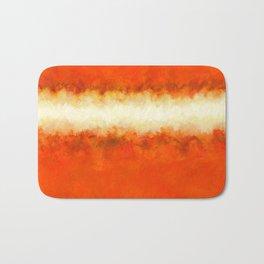 Tangerine Sunshine Bath Mat