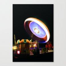Fairground Spinner Canvas Print