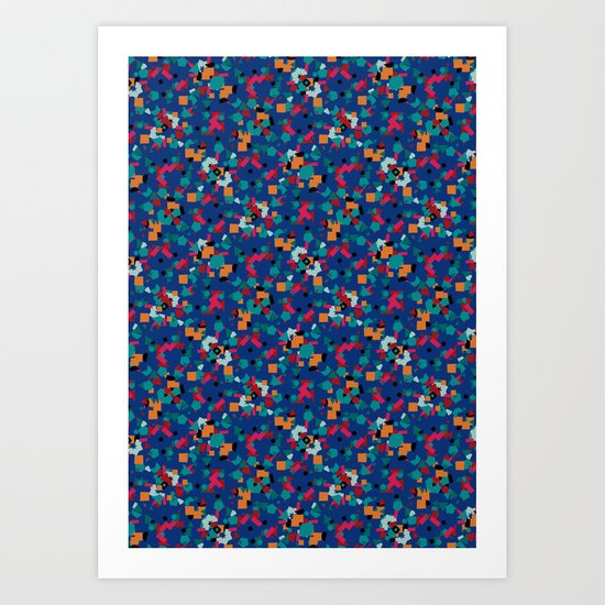 Kaleidoscope Number 3 Art Print