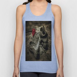 Shoes On The Danube Bank Art Unisex Tank Top