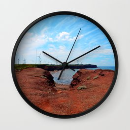North Cape Wind Park and Cliff Wall Clock