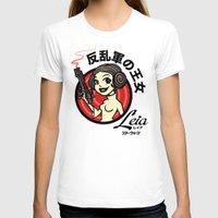 leia T-shirts featuring Kawaii Leia by Bamboota