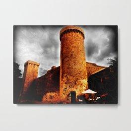 La forteresse Metal Print