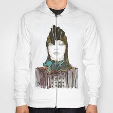 Warrior fashion portrait Hoody