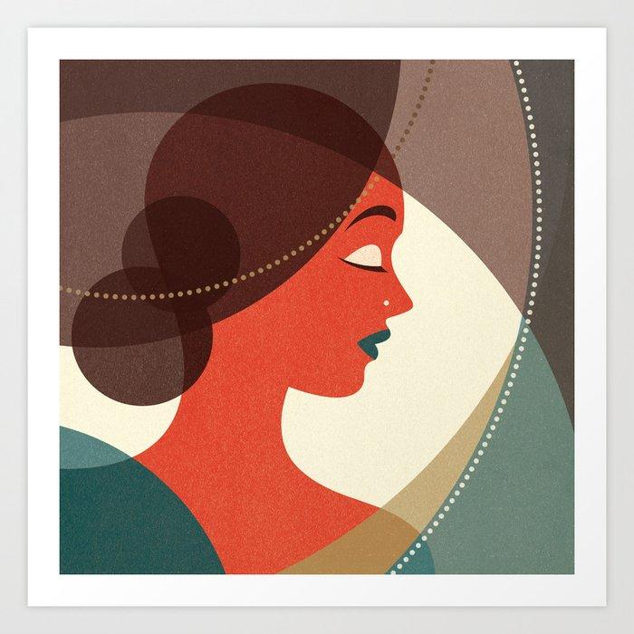 Venn Deco (Part IV) Art Print