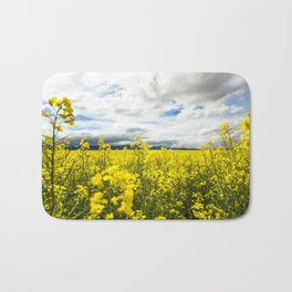 Fields of yellow Bath Mat