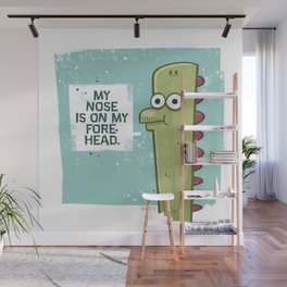 Forehead Nose Wall Mural