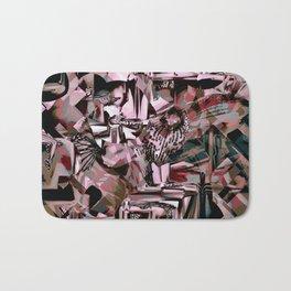 Cubist Abstract Bath Mat