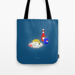 Chicken Leg + White Rice + A Can of Pepsi + Ketchup Tote Bag