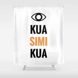 KUA SIMI KUA Shower Curtain