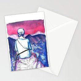 Tati at Machu Picchu Stationery Cards