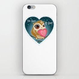 Loving Owl iPhone Skin
