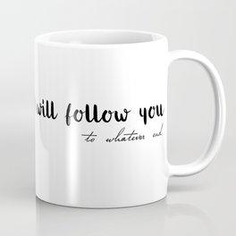 to whatever end (MUG LEFT) Coffee Mug