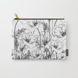 Poppies field Carry-All Pouch