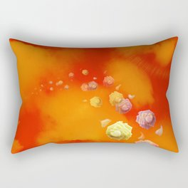 Sunset Roses Rectangular Pillow