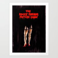rocky horror picture show Art Prints featuring RHPS by Zombie Rust